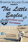 Worcestershire live music with the eagles tribute worcestershire called the little eagles poster