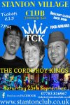 Worcestershire live music with rock band the corduroy kings poster